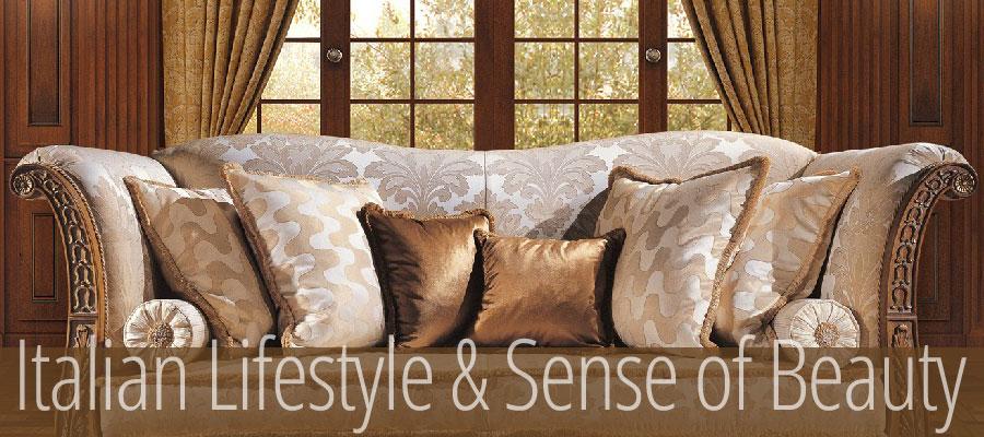 Arredamenti violi arredamenti di lusso mobili in stile for Mobili di lusso outlet
